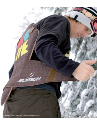 SLYTECH 2ND SKIN BACKPROTECTOR - WOLLE