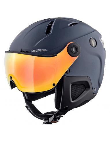 Alpina - Attelas QVM - Skihjelm Med...