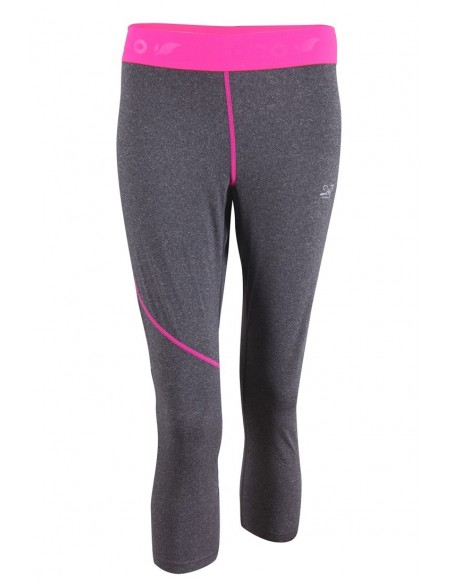 2117 Gran womens eco 2nd layer 3/4 pants -dk grey-