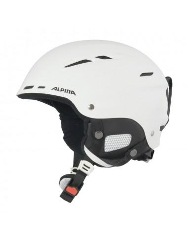 Alpina biom skihjelm - white matt
