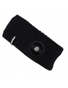 EarRebel Carneiro pandebånd m. høretelefoner, sort