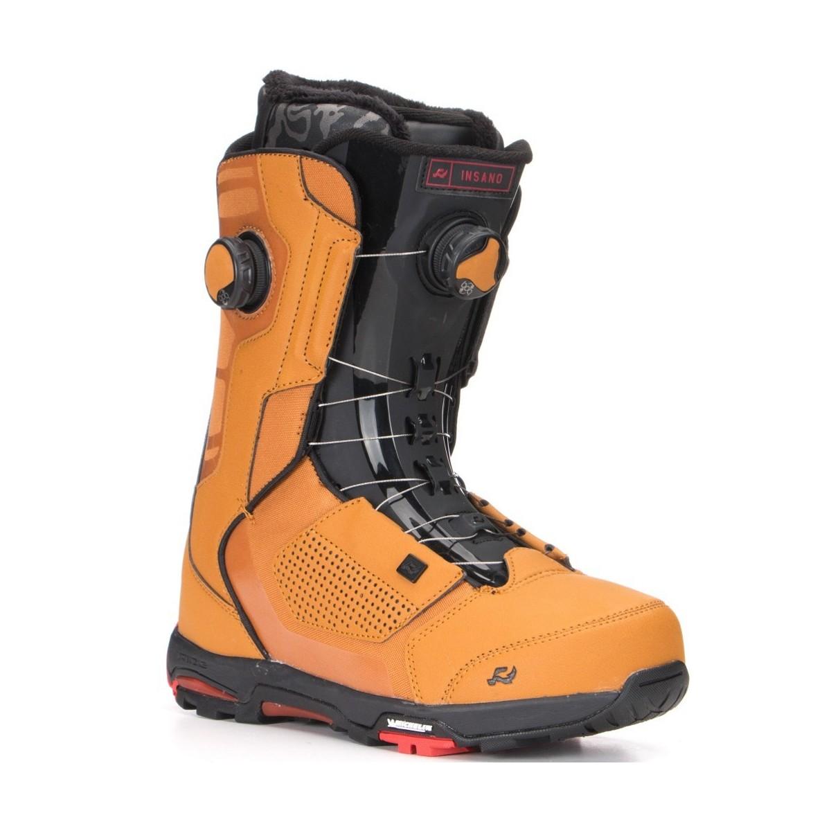 RIDE INSANO FOCUS BROWN SNOWBOARD BOOT b67b869c3