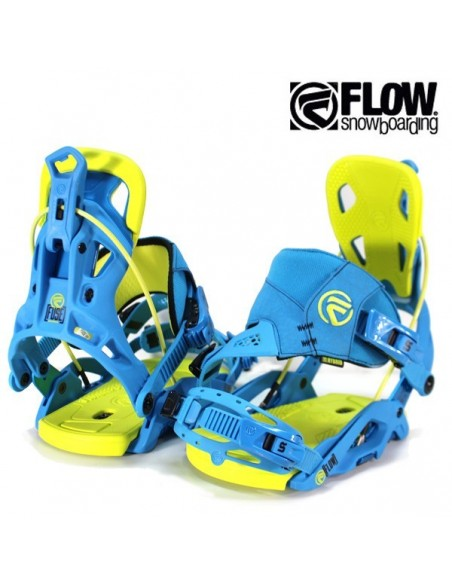 FLOW FUSE HYBRID BLUE/LIME
