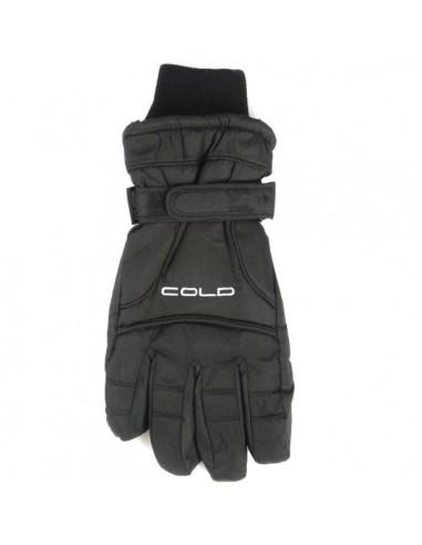 COLD Force Senior Skihandske - Sort