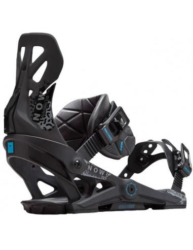 Now Brigade Snowboardbindinger - Sort