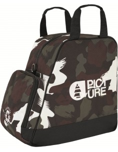 Picture Boot Bag - Black...